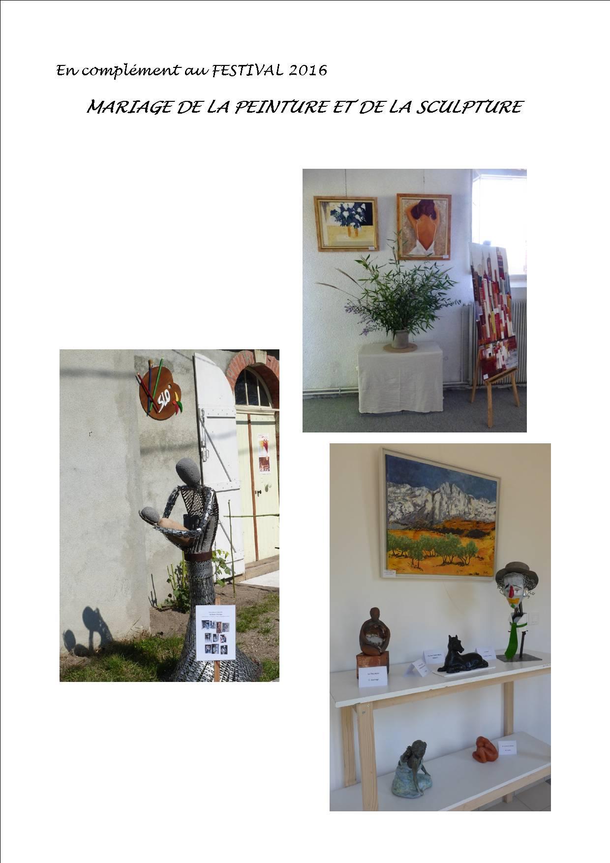 mariage de la peinture et de la sculpture 1