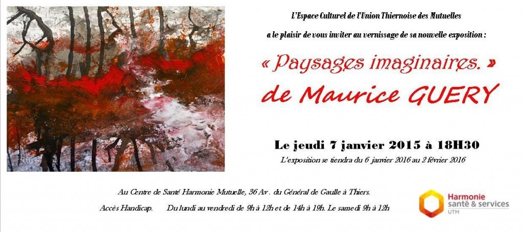 Vernissage GUERY Maurice