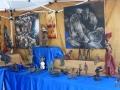 P1480448 stand Equit'art les bronzes et tableaux du Burkina Faso